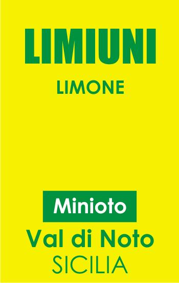 limiuni - limone del val di noto Minioto