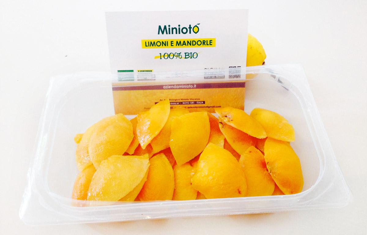 scorze di limone bio - minioto